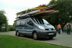 Bespoke roof rack system for kayaks, canoes, rowing boats and all water craft