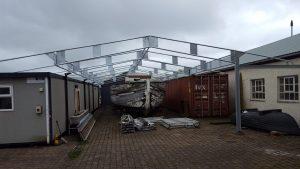 Bespoke Engineered Boat House
