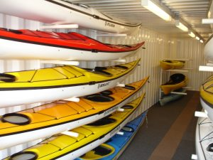 Kari-tek Storage Container Kayak Racks