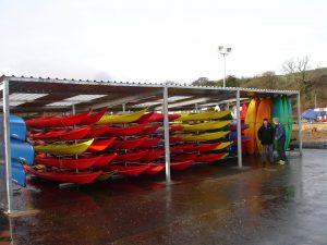 Kayak and canoe storage