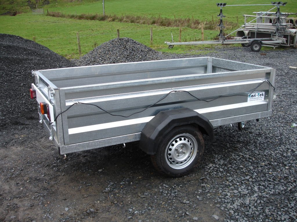 Kari-Tek galvanised general purpose trailer