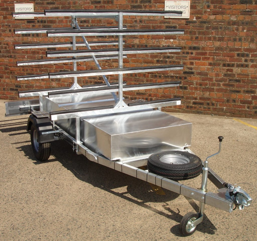 Bute kayak trailer