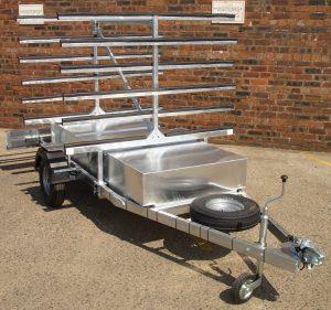 Bute kayak trailer