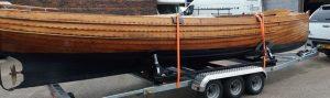 Heavy boat trailer