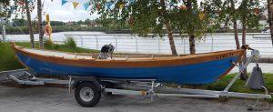 Small boat trailer