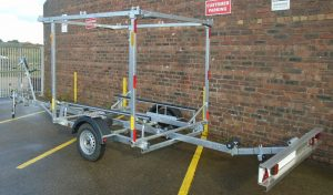 St Ayles Double Skiff Trailer