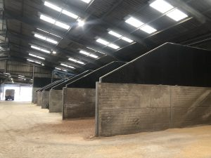 Animal feed vertical bay extensions