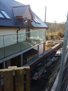 Glass walkway & balcony