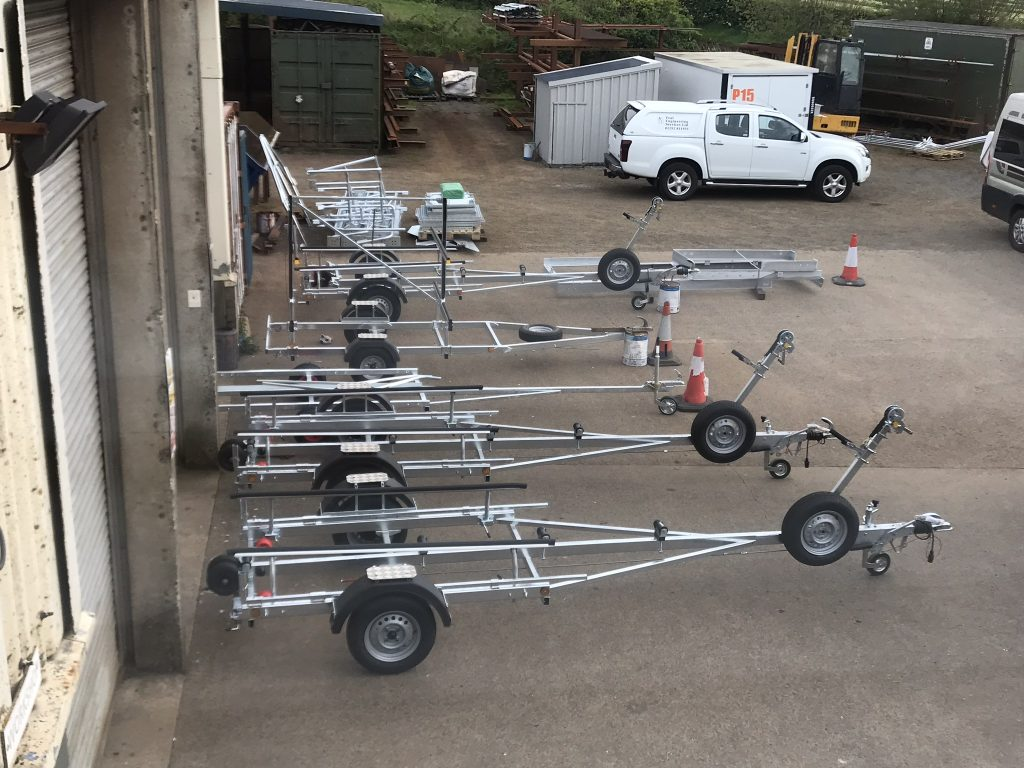 New manufactured trailers