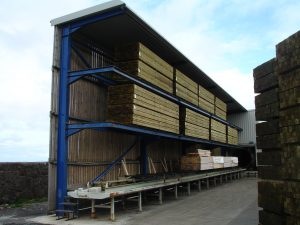 Timber drying rack to hold 50t