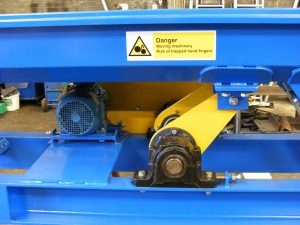 Vibro conveyor drive section
